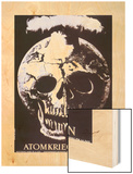 Atomkreig Nein 1954 Wood Print by Hans Erni