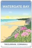 Watergate Bay, Cornwall Blikskilt