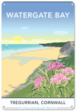 Watergate Bay, Cornwall Tin Sign