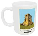 Scarborough Castle, Yorkshire Mug - Mug