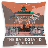 Brighton Bandstand Cushion Throw Pillow