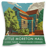 Little Moreton Hall Cushion Throw Pillow