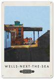 Wells-Next-The-Sea, Norfolk Tin Sign