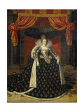 Marie De Medicis, Consort of Henry IV, King of France Prints by Frans Pourbus II