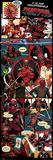 Deadpool- Insufferable Action Panels Plakát
