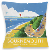 Bournemouth, Dorset Cushion Throw Pillow