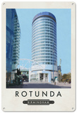 Birmingham's Rotunda Tin Sign