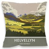 Helvellyn, Lake District Cushion Throw Pillow