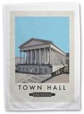 Birmingham Town Hall Tea Towel Novelty