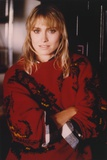 Darlanne Fluegel in Red Dress Portrait Photo by  Movie Star News