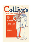 Collier'S, the National. the House of Devils. Print by Edward Penfield