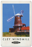 Cley Windmill, Norfolk Tin Sign