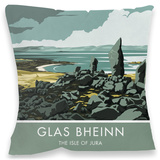 Glas Bheinin, Isle of Jura Cushion Throw Pillow