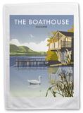 Boathouse, Ullswater, Lake District Tea Towel Regalos