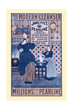 The Modern Cleanser, Millions Now Use Pearline Posters by Louis Rhead