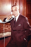 Boris Karloff Pose in Telephone Photo by  Movie Star News