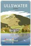 Ullswater, Lake District Tin Sign