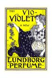 Try Vio-Violet, a New Lundborg Perfume Posters by Louis Rhead