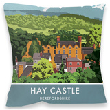 Hay Castle, Herefordshire Cushion - Throw Pillow