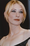Cate Blanchett Posed in Black Dress Portrait Photo by  Movie Star News