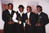 Boyz II Men in Black Suits Group Portrait Photo by  Movie Star News