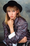 Debbie Gibson on a Printed Blazer Portrait Photo by  Movie Star News