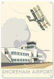 Shoreham Airport, West Sussex Tin Sign