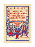 Alice's Adventures in Wonderland and Through the Looking Glass Poster by Blanche McManus