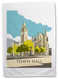 Manchester Town Hall Tea Towel Novelty