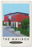 The Mailbox, Birmingham Tin Sign