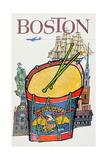 Boston Prints by David Klein