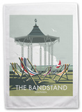 The Bandstand, Southsea, Portsmouth Tea Towel Novelty