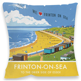 Frinton-On-Sea Cushion Throw Pillow
