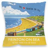 Frinton-On-Sea Cushion Throw Pillow