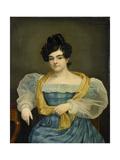 Portrait of Adriana Johanna Van Wijck Prints by Petrus van Schendel