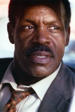 Danny Glover Close Up Portrait wearing Brown Suit with Animal Print Tie Photo by  Movie Star News