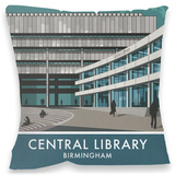 Central Library, Birmingham Cushion Throw Pillow