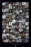 Muhammad Ali- Commemorative Montage Kunstdrucke