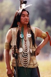 Graham Greene Portrait in Native American Outfit Photo by  Movie Star News