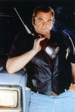 Brian Dennehy in Black Leather Jacket with Rifle Portrait Photo by  Movie Star News