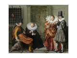 Elegant Couples Courting Prints by Willem Pietersz Buytewech