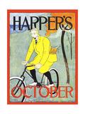 Harper's October Art by Edward Penfield