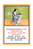 Exhibition of the American Water Color Society Plakater af Maxfield Parrish