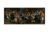 Banquet at the Crossbowmens Guild Prints by Bartholomeus Van Der Helst