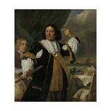 Portrait of Aert Van Nes Print by Bartholomeus Van Der Helst