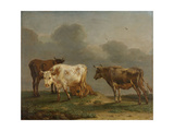 Four Cows in a Meadow Posters by Paulus Potter