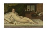 Reclining Venus Poster by Lambert Sustris