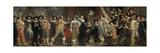 Militiamen of the Company of Captain Roelof Bicker Art by Bartholomeus Van Der Helst