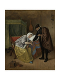 Sick Woman Prints by Jan Havicksz Steen
