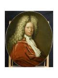 Portrait of Mr. Brust Prints by Pieter van der Werff